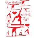 Stickers mélangés GAF