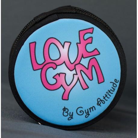 Porte monnaie love gym ccrea gym attitude for Porte monnaie peace and love