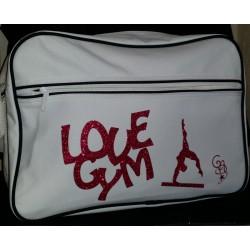 Sac Bandoulière Love Gym + poutre