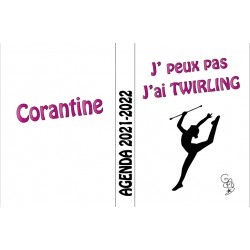 Agenda scolaire 2021 - 2022 GYM twirling