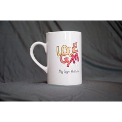 Mug love gym + poutre rouge