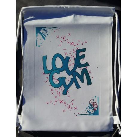 Gym Sac blanc