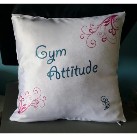 Coussin Blanc Gym Attitude