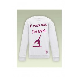 sweat jpeux pas j'ai gym