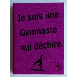 Agenda scolaire 2017 - 2018 Gymnaste