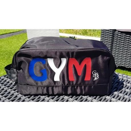 Trousse à maniques noir satiné BBR personnalisé - CCREA - Gym Attitude 3374c674fc2