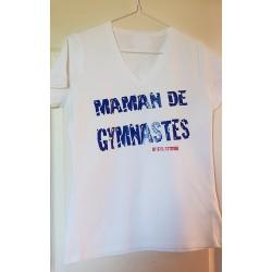 """Tshirt """"Maman de Gymnastes"""" BBR"""