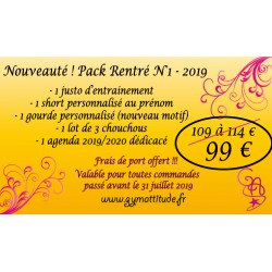 PACK RENTREE n° 1