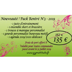 PACK RENTREE n° 3