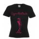 T-shirt cintré noir et fushia