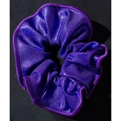 Chouchou violet poudré