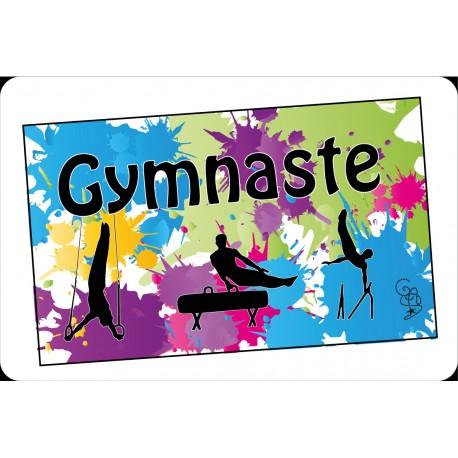 Set de table Gymnaste