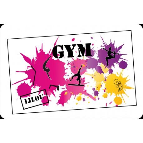 Set de table Gym