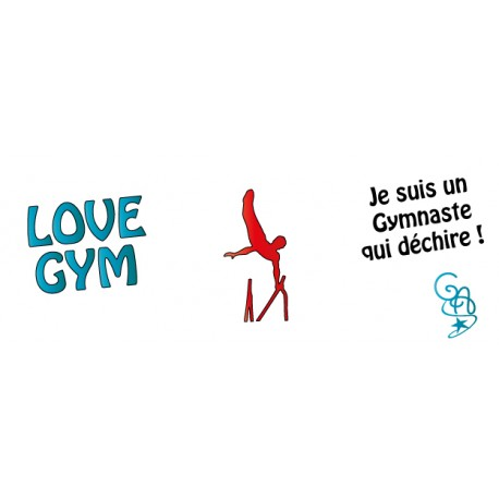 Mug love gym gam