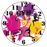 Horloge peinture personnalisé