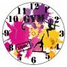 Horloge peinture personnalisé